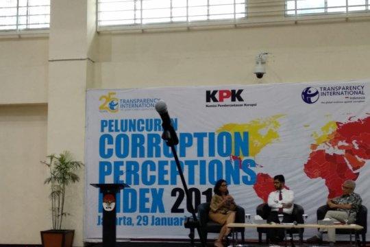 Indeks Persepsi Korupsi Indonesia naik tipis