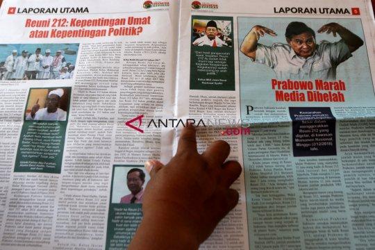 Polri tunggu rekomendasi Dewan Pers soal Tabloid Indonesia Barokah