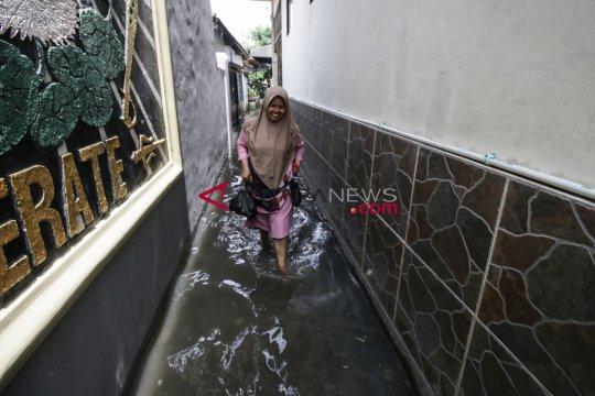 Akibat hujan, empat kecamatan di Jakarta Selatan banjir