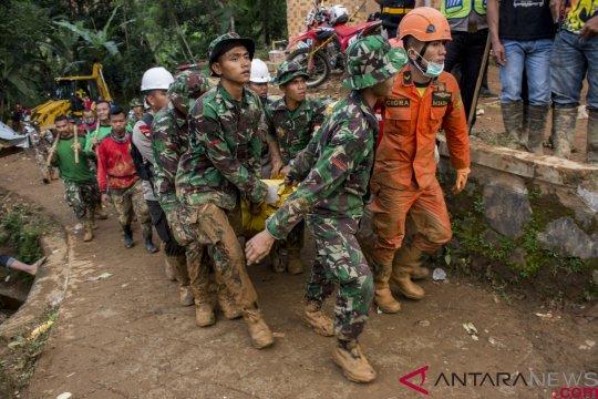 Kerugian akibat bencana di Sukabumi mencapai Rp21 miliar