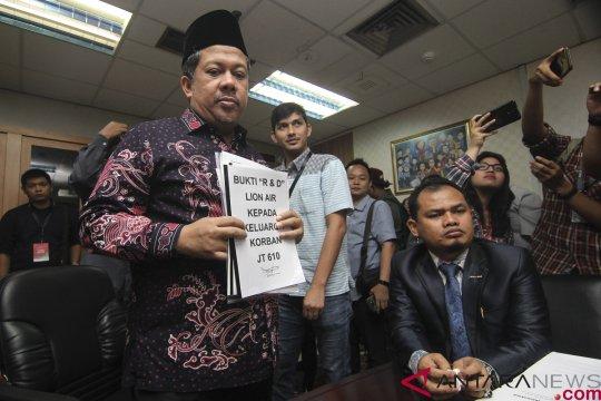 Keluarga korban Lion Air JT 610 mengadu ke DPR