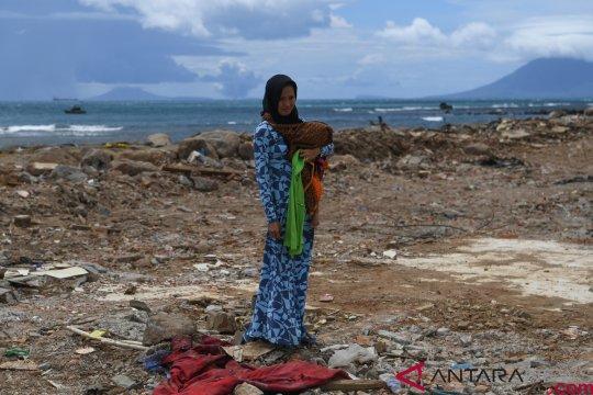 Korban gelombang tsunami Selat Sunda