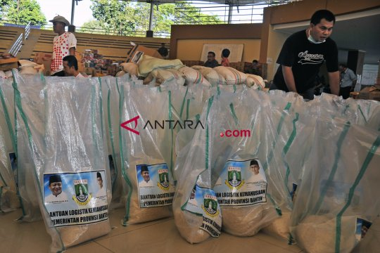 Bantuan untuk korban tsunami Lampung terus mengalir