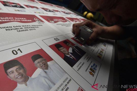 KPU tinjau pencetakan surat suara di Makassar