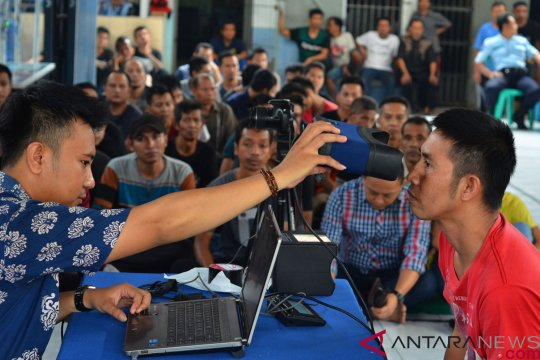 138 relawan ikut gotong royong rekam data KTP elektronik