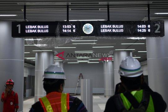 MRT Jakarta pastikan penerapan standar keselamatan dan keamanan