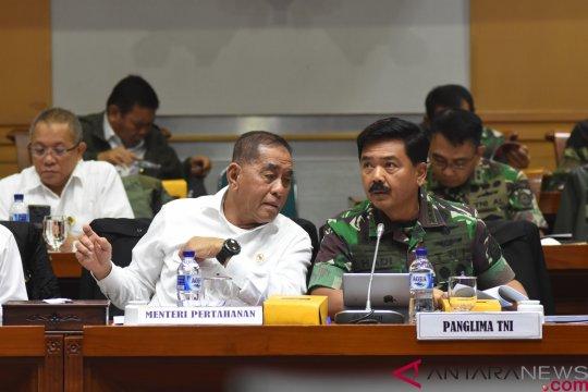 Raker Komisi I , Menhan dan Panglima TNI