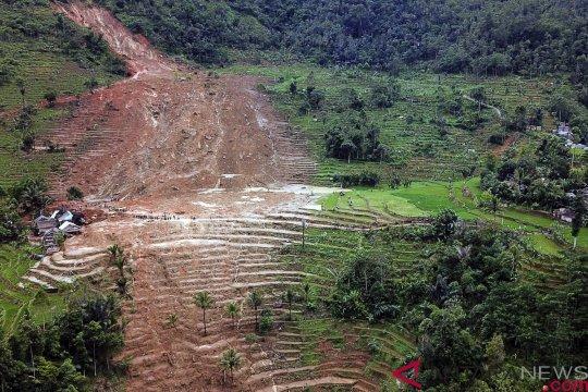 BNPB: daerah longsor Sukabumi seharusnya untuk konservasi