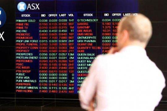 Saham Australia ditutup jatuh, terseret saham perbankan dan tambang