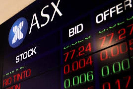 Saham Aussie ditutup merosot namun catat kenaikan mingguan yang kuat