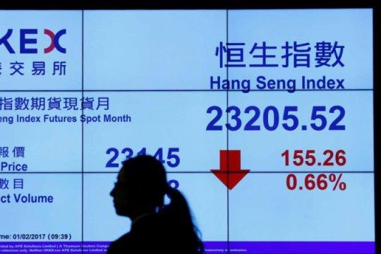 Bursa saham Hong Kong berakhir melemah 0,83 persen