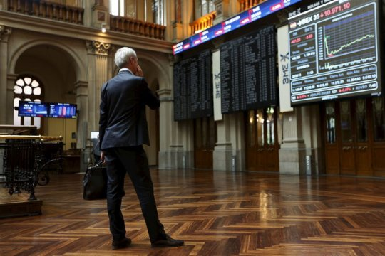 Saham Spanyol jatuh, indeks IBEX-35 kehilangan 1,27 persen