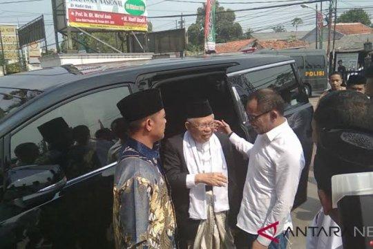 Cawapres RI Ma'ruf Amin akan keliling Bogor