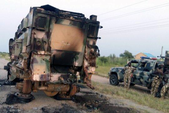 Satuan pasukan Afrika Barat klaim tewaskan 42 petempur ISWAP