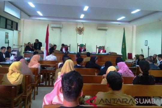 Terpidana kasus korupsi RSJ Padang bayar denda pidana