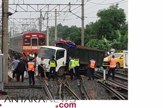 Perjalanan KRL lintas Bogor alami gangguan