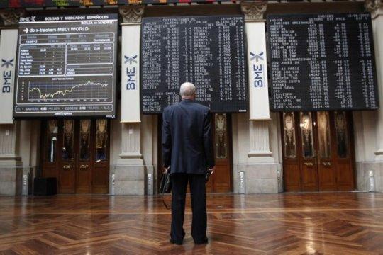 Saham Spanyol untung 5 hari beruntun, Indeks IBEX bertambah 58,00 poin