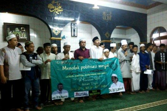 GMII deklarasi tolak politisasi masjid