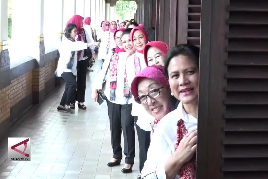 Iriana Jokowi blusukan ke Semarang