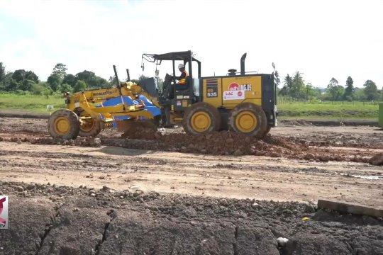 Seksi 4 Tol Aceh dalam pekerjaan