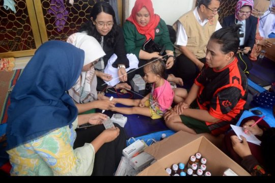 5.825 jiwa terdampak banjir di Sulawesi Selatan