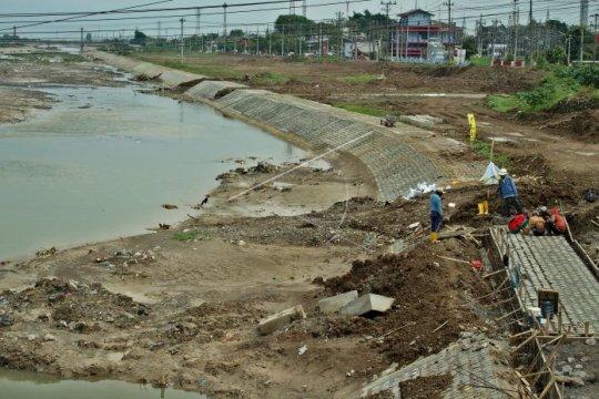 Tiga kecamatan terdampak limpasan Kanal Banjir Timur Semarang