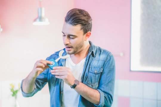 Menggosok gigi kini bisa dalam hitungan detik