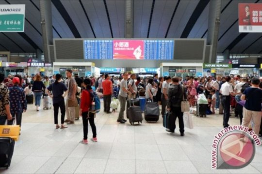 9.000 orang di China ditahan karena ganggu perjalanan kereta