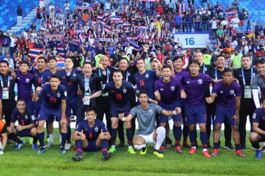 Thailand percaya diri bisa lewati 16 besar Piala Asia