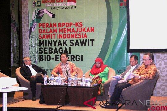 Minyak sawit potensial dikembangkan sebagai bioenergi di Indonesia