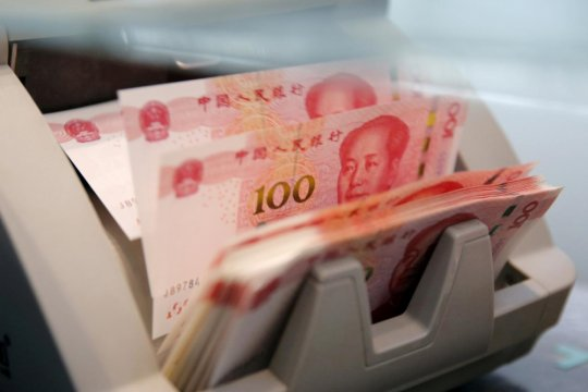Yuan menguat tipis 17 basis poin terhadap dolar AS