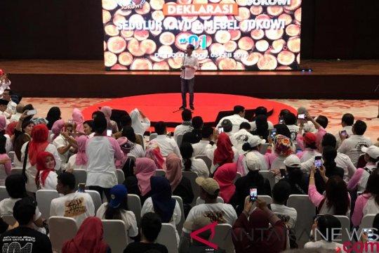 Pengusaha Kayu dan Mebel deklarasi dukung Jokowi di Solo
