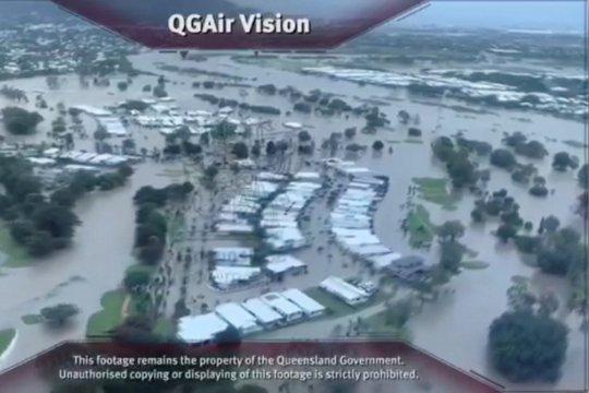 Pembukaan pintu bendungan di Queensland ancam perparah banjir