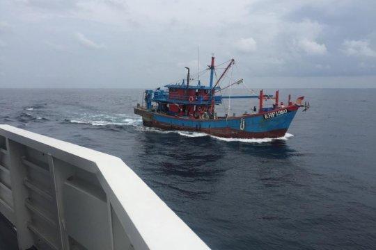 KKP tangkap dua kapal ikan asing berbendera Malaysia