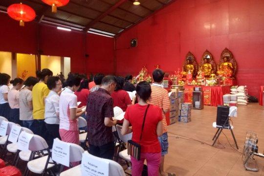 Pengurus Vihara Dharma Bakti perkirakan kedatangan 8.000 pengunjung
