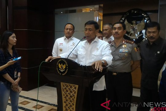 Wiranto sebut BNPT-Kemlu kirim personel identifikasi aksi teror Filipina