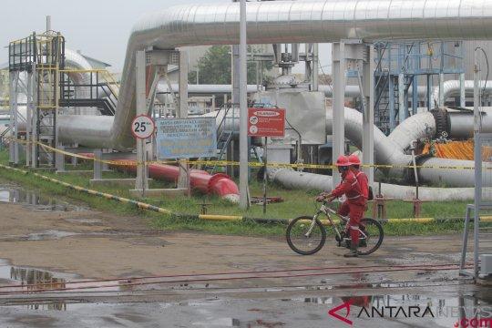 Area OGT Balongan Pertamina terbakar