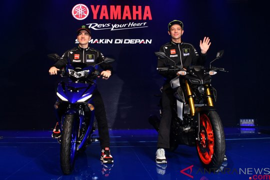 Peluncuran motor terbaru Yamaha