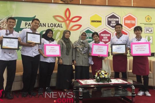 Mie Ganyong antar SMK Wikrama Juara 1 lomba pangan Kementan