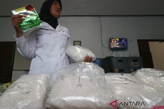 Polda Riau sita delapan kilogram sabu-sabu asal Malaysia