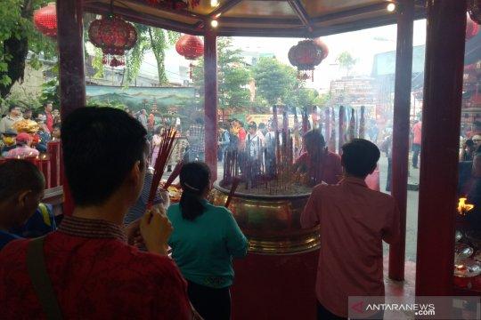 Vihara Darma Bakti kedatangan lebih dari 11.000 pengunjung