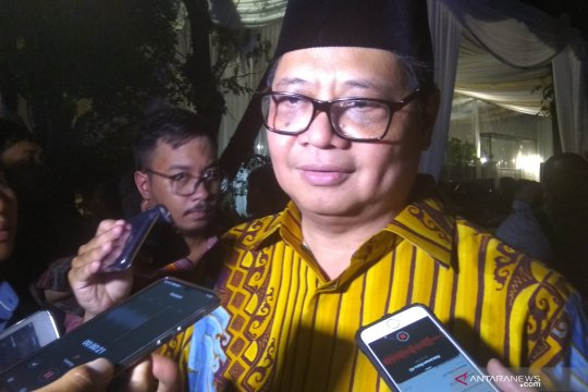 Airlangga Hartarto sebut dukungan Akbar Tandjung positif untuk Jokowi
