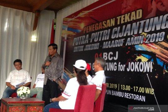 Bravo Cijantung deklarasikan dukung Jokowi-KH Ma'ruf Amin