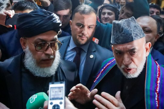 Pembicaraan perdamaian Afghanistan dibatalkan karena masalah delegasi