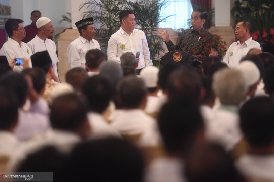 Jokowi dengar keluhan petani gula di Istana Negara