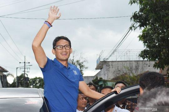 DI Pekalongan, Sandiaga janjikan kebangkitan ekonomi rakyat