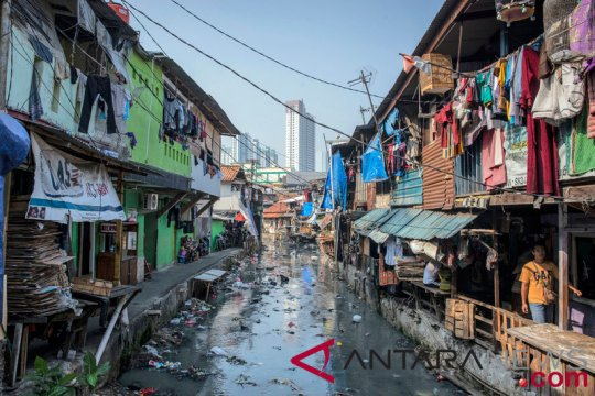 BPS: Penduduk miskin di DKI Jakarta menurun 0,02 persen