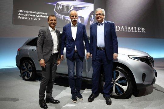 Bursa saham Jerman menguat, namun saham Daimler jatuh 3,16 persen