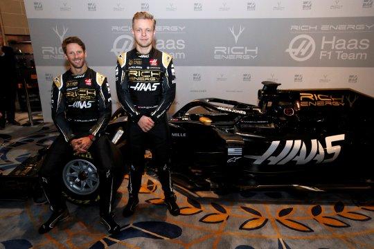 Haas tetap diperkuat Grosjean dan Magnussen untuk F1 musim 2020