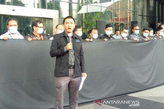 Wadah Pegawai KPK bentuk rantai manusia sebagai solidaritas atas kasus penganiayaan